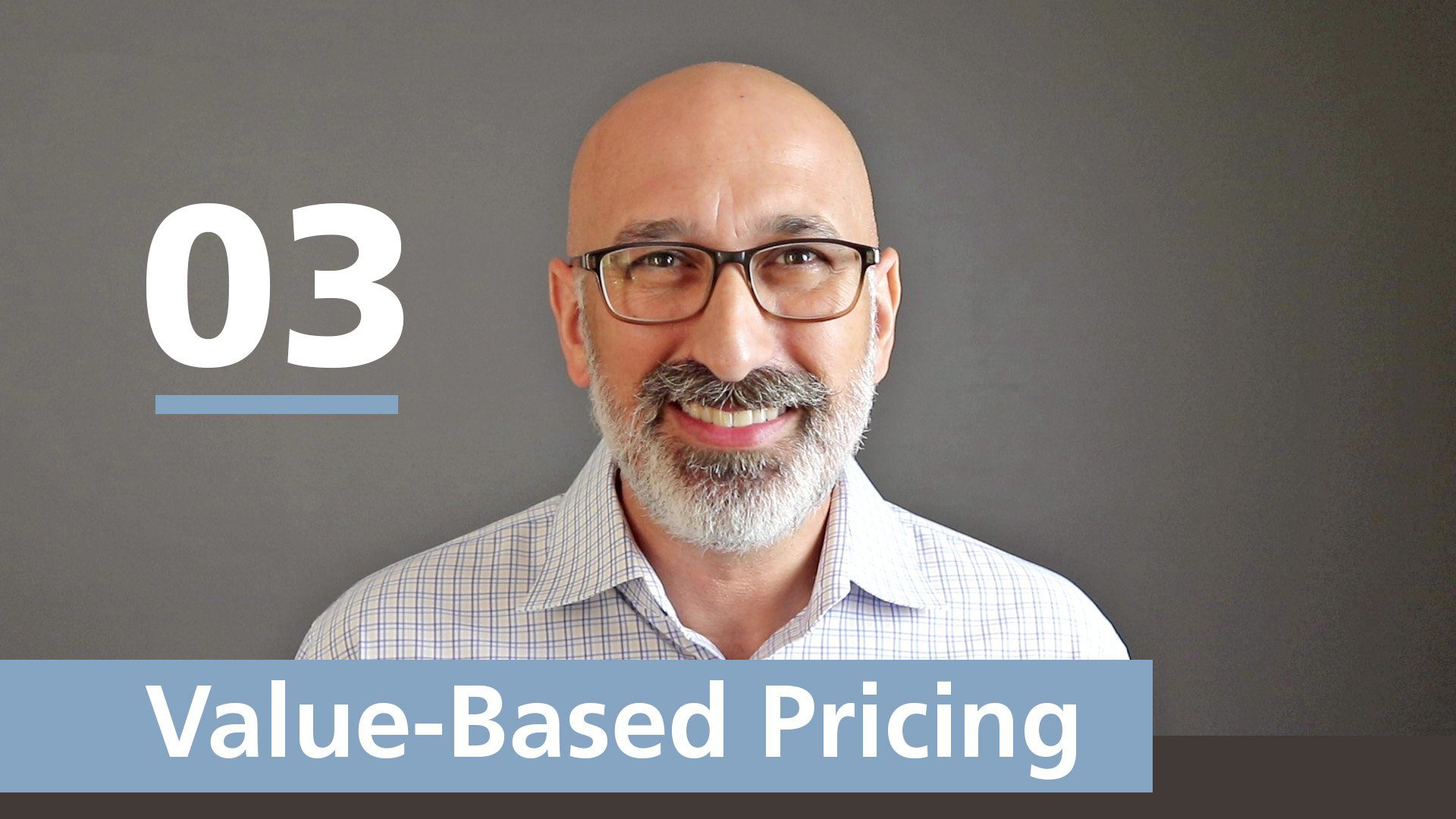 value-based pricing video