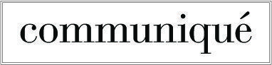 Communiqué newsletter logo