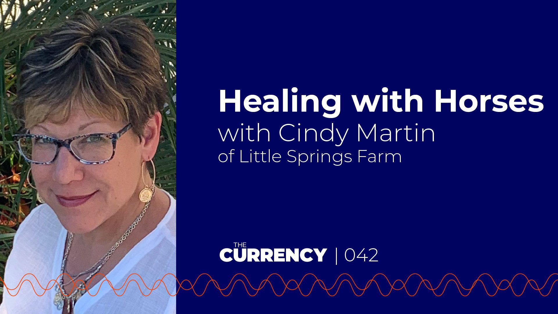 The Currency: [042] Healing with Horses with Cindy Martin